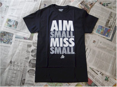 Aim Small T-Shirt [aimsmallt]