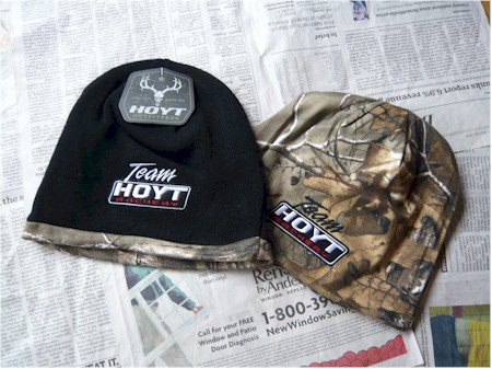 Hoyt Black/Camo Reversible Beanie