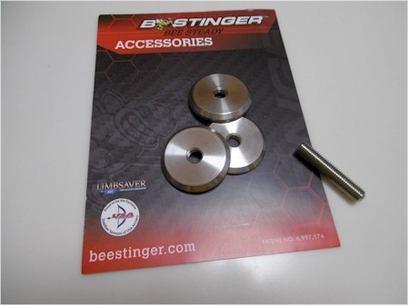 B-Stinger 5/16inch Solid Dish Weight [3onceset]