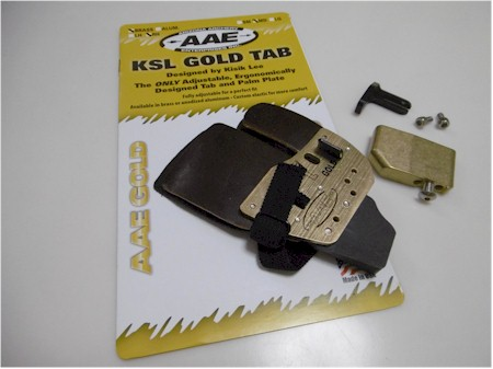 Cavalier KSL Gold Cordovan Tab (ブラス) Heavy [goldheavytab]