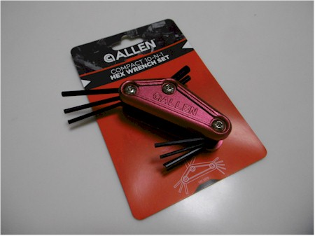 Allen Compact Wrench Set